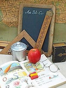 décoration de table thème de mariage l'école