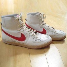 c4f8204141 Wrestling Shoes, 80s Shoes, Nike Boots, Ellesse, Vintage Nike, Nike Air