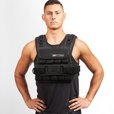 Compact /& Adjustable Men/'s Weighted Vest for Weight Loss /& Strengthening 40lb