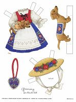 Album Archive - Antique paper dolls and paper toys to make Paper Toys, Paper Crafts, World Thinking Day, Barbie, Paper Dolls Printable, Vintage Paper Dolls, Girl Scouts, Origami, Decoupage