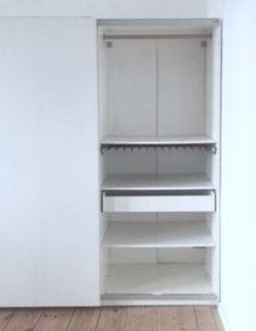 Ikea kleiderschrank weiß mit schiebetüren  IKEA PAX Wardrobe with sliding doors, white, Tonnes white ...