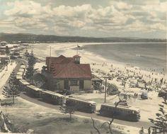 Kirra Surf Life Saving Club, Kirra Beach, ca. 1946.