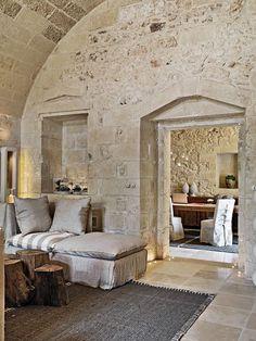 Interior Architecture, Interior And Exterior, Luxury Interior, Italian Interior Design, Design Interior, Kitchen Interior, Rustic Italian Decor, Rustic Cafe, Rustic Restaurant