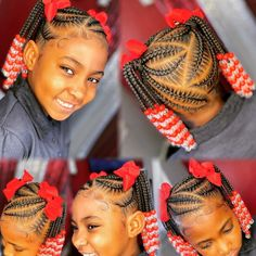 Black Baby Girl Hairstyles, Black Kids Braids Hairstyles, Little Girls Natural Hairstyles, Toddler Braided Hairstyles, Toddler Braids, Braids Hairstyles Pictures, Natural Hairstyles For Kids, Kids Braided Hairstyles, Braids For Kids