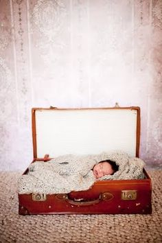 when we have a newborn... we can use the suitcase from the wedding :)