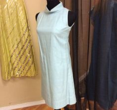 1960's Sky Blue Dress with Lined Jacket by LisaLaRueRetroActive, $32.95