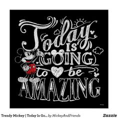 Trendy Mickey | Today Is Going To Be Amazing