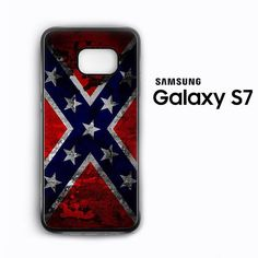 Confederate Rbbel Flag awesome for Samsung Galaxy S3/S4/S5/S6/S6 Edge/S6 Edge Plus/S7 Phonecases