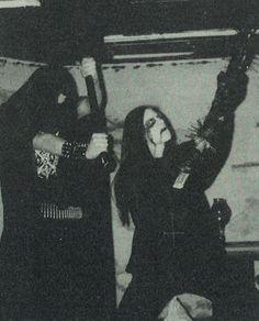 deathcrush: -Faust, Samoth In Helvete…