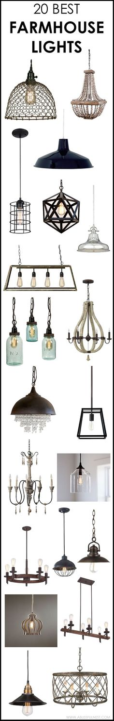 weve got 20 of the best farmhouse lights for you to choose from