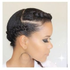 braided updos hairstyles for black women