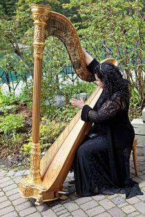 harps make a ceremony unique and memorable