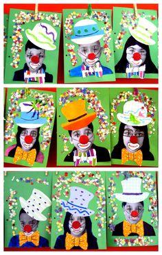 tapa projecte el circ - New Ideas Clown Crafts, Circus Crafts, Circus Art, Circus Theme, Winter Art Projects, Projects For Kids, Crafts For Kids, Arts And Crafts, Kids Carnival