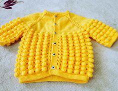 Örgü Sarı Yelek #crochet #knit #knitting #skirt