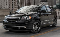2013 Chrysler Town and Country S. Now with a sport suspension and smoked headlights!