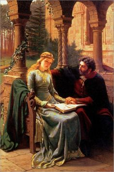 Edmund Blair Leighton - Abelard and his Pupil Heloise