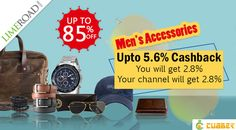 Limeroad - Men's Accessories + Upto 5.6% Cashback from cubber  Shop and earn through website :- http://shop.cubber.in/?utm_source=rk&utm_medium=rkseo&utm_campaign Download cubber app :- https://play.google.com/store/apps/details?id=com.dnk.cubber  #cubberapp #cashbackoffers #shoppingonline #cubbershop  #discount #sale #couponcode #onlinestore #cubberin #extraearn #refernearn #shopnearn #HappyNavratri #WednesdayWisdom