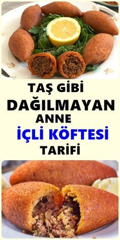 Making the meatballs has never been easier. How to make this delicious kibbeh? Full of details and more . Meat Recipes, Salad Recipes, Snack Recipes, Wie Macht Man, Best Beauty Tips, Homemade Beauty Products, Turkish Recipes, Canapes, Pesto