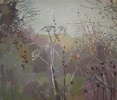 Ruth Stage, 'Hedge Parsley in Ancient Woodland', 22x25 inches