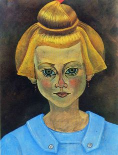 Portrait of a Young Girl, 1915 Joan Miro. Start Date: Completion Style: Abstract Expressionism. Dimensions: 200 x Gallery: Fundació Joan Miró, Barcelona, Spain. Hieronymus Bosch, Joan Miro, Pablo Picasso, Spanish Painters, Spanish Artists, Harlem Renaissance, Jackson Pollock, Bel Art, Magritte