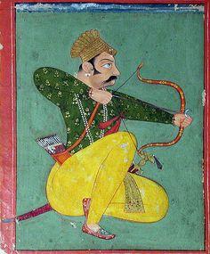 Surajmal of Bundi , Rajasthan India, 1700.