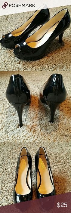 Nine West Patent Heels Peep toe heels Nine West Shoes Heels