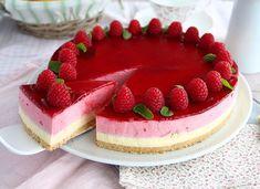 - Recipe Dessert : Raspberry mousse cake - Video recipe by. Food Cakes, Tea Cakes, White Chocolate Mousse Cake, White Chocolate Raspberry, Chocolate Blanco, Chocolate Cake, Bavarois Recipe, Condensed Milk Cake, Mini Cheesecake