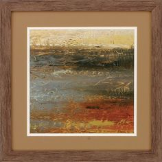 Siena Abstract 3 Piece Framed Painting Print Set