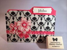 Crafty Masterpieces: Another File Folder card!