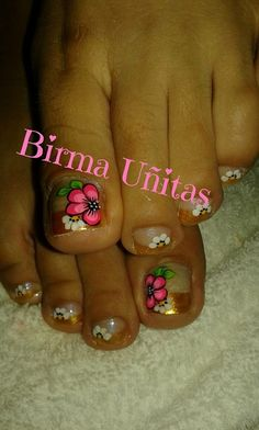 Pedicure Designs, Toe Nail Designs, Toe Nail Art, Toe Nails, Gorgeous Nails, Pretty Nails, Sexy Toes, Pedicures, Feet Nails