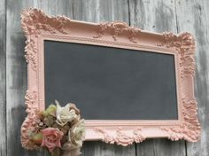 Crafty frame... doing something like this for a MOPS craft @ some point