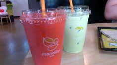 까만음료도 좋지만 색깔있는 음료도 좋구나!