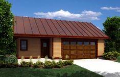 Garage Plan 76027 Elevation