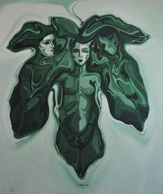 Tuval üzerine yağlıboya ( oil on canvas ), 180x15o cm, 2014