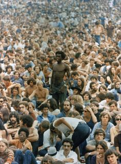 that's me- lower left corner - Woodstock,1969  I was called Goodwoman then