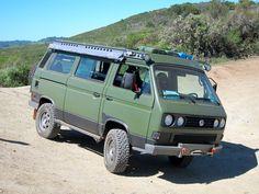 Shown on the Das Mule van in custom Gun Metal paint Vw T3 Doka, T3 Vw, Vw Vanagon, Bus Camper, Volkswagen Bus, Transporter T3, Volkswagen Transporter, Truck Camping, Van Camping