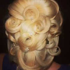 wedding hair - yes or no? yes, beautiful and I like the color too