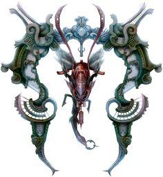 zodiark, keeper of precepts | ophiuchus/darkness (final fantasy xii)
