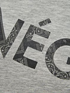MØNSTRET T-SHIRT, Light Grey Melange