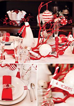 NEW: Mod & Merry Peppermint Twist - Part 1 {Home Dinner & Desserts Party} // Hostess with the Mostess®