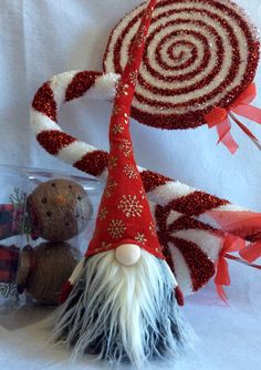 Nordic Gnome Tomte Nisse SANTA Christmas Elf elves Decoration by DaVinciDollDesigns on Etsy https://www.etsy.com/listing/487011177/nordic-gnome-tomte-nisse-santa-christmas