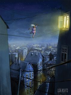 Nattens dronning | Lisa Aisato - nettbutikk Illustrators, Inspiration, Wall Art, Picture Book, Painting, Illustration Art, Book Inspiration, Art, Pictures