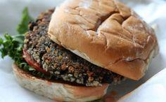 Hamburguesas vegetarianas de frijoles negros - IMujer