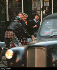 PRINCESS DIANA AND PRINCE WILLIAM 1997, sad that she would be dead not long after this