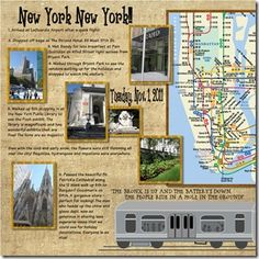 Right through the very heart of it, New York New York