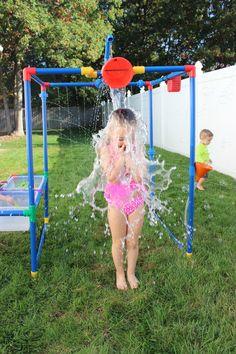 Buckets of Fun Rpbof 6 in 1 Backyard Waterpark Water Toys Sand Outdoor Hobbies for sale online Kids Outdoor Play, Kids Play Area, Backyard For Kids, Backyard Games, Backyard Projects, Outdoor Fun, Diy Outdoor Toys, Outdoor Playset, Kids Backyard Playground