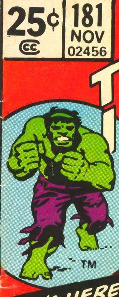 Marvel corner box art - The Hulk