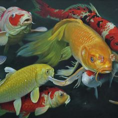 Oil painting:FISH
