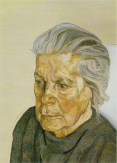 The Painters mother III - Lucian Freud