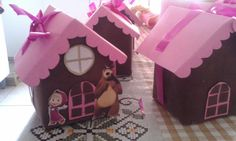 Birthday Bag, Birthday Parties, Marsha And The Bear, Bear Party, Ideas Para Fiestas, 2nd Baby, Girl Cakes, Holidays And Events, Gingerbread